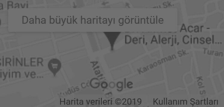 Dr. Ahmet Acar - Google Harita Konum